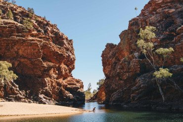 The most beautiful gorges in and around Alice Springs