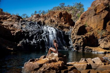 Chasing Waterfalls from Alice Springs